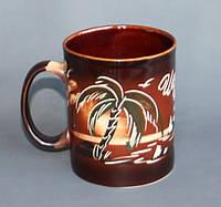 Чашка чайна офисная роспись