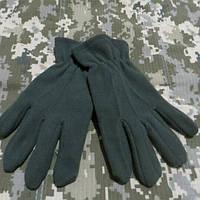 Перчатки флісові Олива