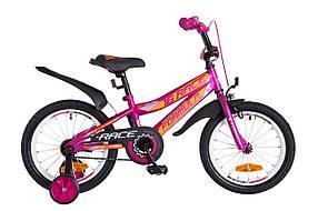 Велосипед двухколесный для девочки Formula Race 16 дюймов ОТ 100 см