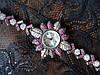 Часы из серебра с рубинами, фото 2