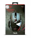 Мышь профессиональная игровая программируемая HAVIT HV-MS798 (4000 DPI) GAMING USB, black, фото 9