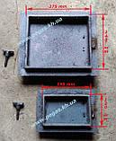 Чавунні дверцята пічні барбекю, печі, грубу (комплект №9), фото 2