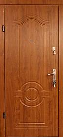 """Металлические входные двери в квартиру """"Редфорт (Redfort)  Лондон"""" МДФ"""