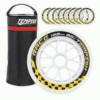 Запасные колеса для роликов Tempish Race 100x24 88A с доставкой, Киев