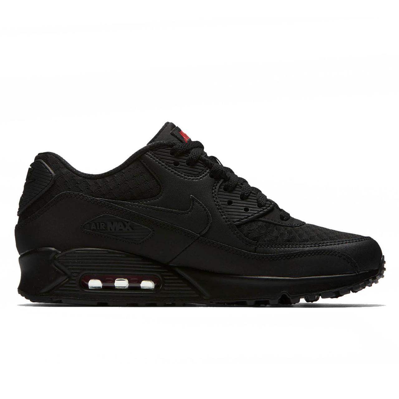 5ddbc958 Оригинальные Кроссовки Nike Air Max 90 Essential Black / Red — в ...