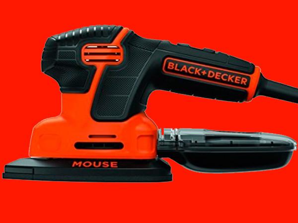 """Дельтавидная шлифмашинка Black&Decker KA2500K-QS """"Mouse®"""""""