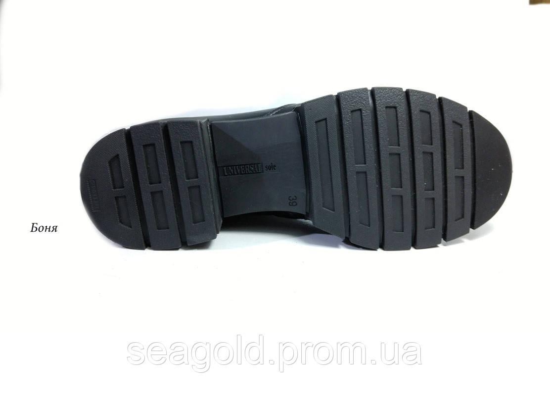 59084f0e980d Женские зимние модные кожаные ботинки мод.