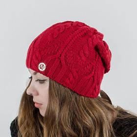 "Вязаная женская шапка ""Liana"""