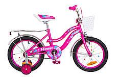 Акция Детский велосипед с корзинкой Flower 16 дюймов Formula для девочки, фото 3