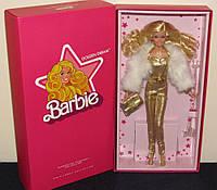 """Коллекционная кукла """"Барби"""" - Золотые мечты  DGX88"""