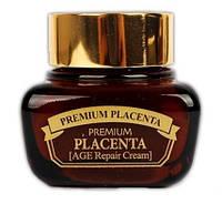 Крем для лица против морщин, с плацентой 3W CLINIC Premium Placenta Age Repair Cream 50мл, фото 1