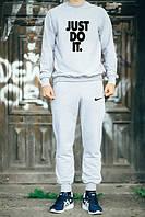 Спортивный костюм Nike серый, хлопковый, к2614