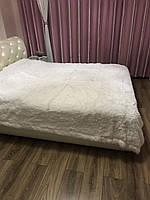 Покрывало на кровать меховое 220х240