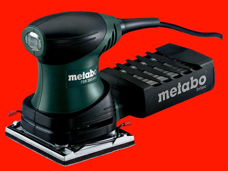 Профессиональная вибрационная шлифмашинка Metabo FSR 200 intec
