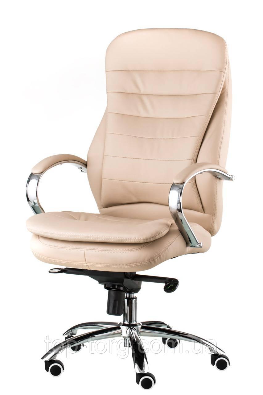 Крісло керівника Murano beige, офісне, комп'ютерне, колір бежевий