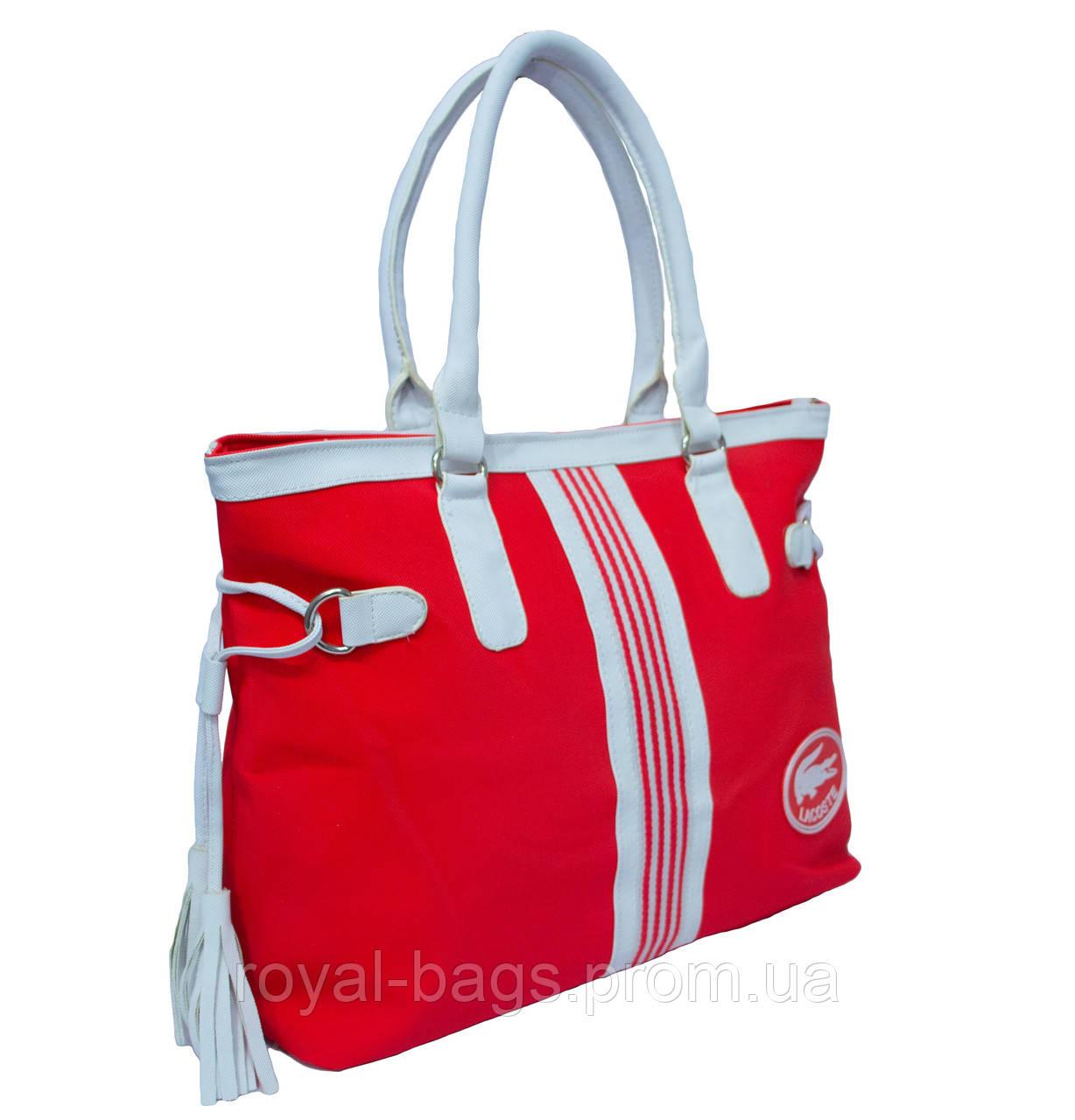 38d1948e395e Сумка Lacoste Nelly Shopping красная: продажа, цена в Одессе ...