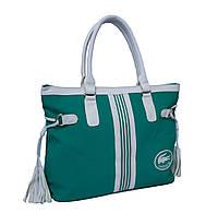 Сумка Lacoste Nelly Shopping зеленая