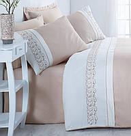 Комплект постельного белья с вышивкой  Cotton Box  сатин Odila Bej