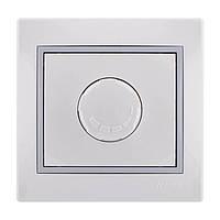 Диммер 1000W (светорегулятор) белый MIRA Lezard