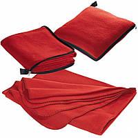 Плед-подушка из плотного материала