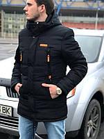 Мужская куртка Columbia black. Теплая куртка. Хит сезона.