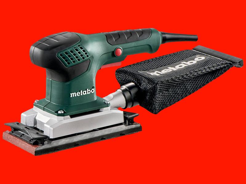 Профессиональная вибрационная шлифмашинка Metabo SR 2185