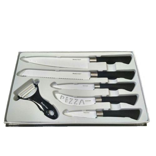 Набір кухонних ножів Beauty Line BL-K5BW 6 в 1