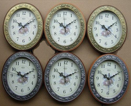 Часы настенные SIRIUS для дома и офиса RL-S72-W