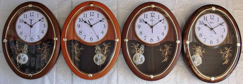 Часы настенные R*L  для дома и офиса RL-M1034 w/m, фото 2