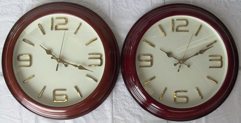 Часы настенные GoTime  для дома и офиса GT-4001WS