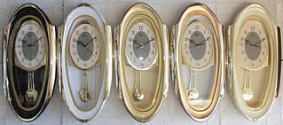 Часы настенные R*L  для дома и офиса RL-M50 w/m