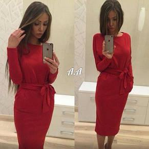 Платье женское 48-52 р батал длинна 110см в ассортименте, фото 3