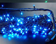 "Гирлянда уличная ""WP"" LED 100 синяя водонепроницаемая, с соединением (ч/п)"