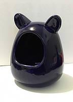 Купалка для шиншиллы керамическая