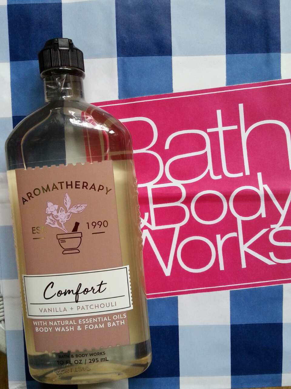 Гель для душа ароматерапия Bath and Body Works Ваниль и Пачули