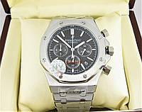 Часы Audemars Piguet Royal Oak Offshore 41mm Chronograph. Silver/Black. Класс: ELITE.