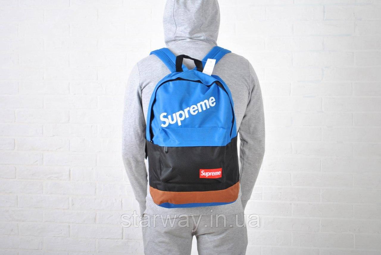 Рюкзак стильный Supreme лого топ