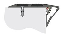 Профиль для защиты ступеней накладной с ЛЕД-подсветкой