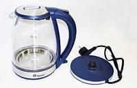 Электрочайник с подсветкой 4 цвета Domotec DT-810, фото 1