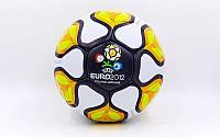 Мяч футбольный №5 Гриппи 5сл. EURO-2012  (№5, 5 сл., сшит вручную)