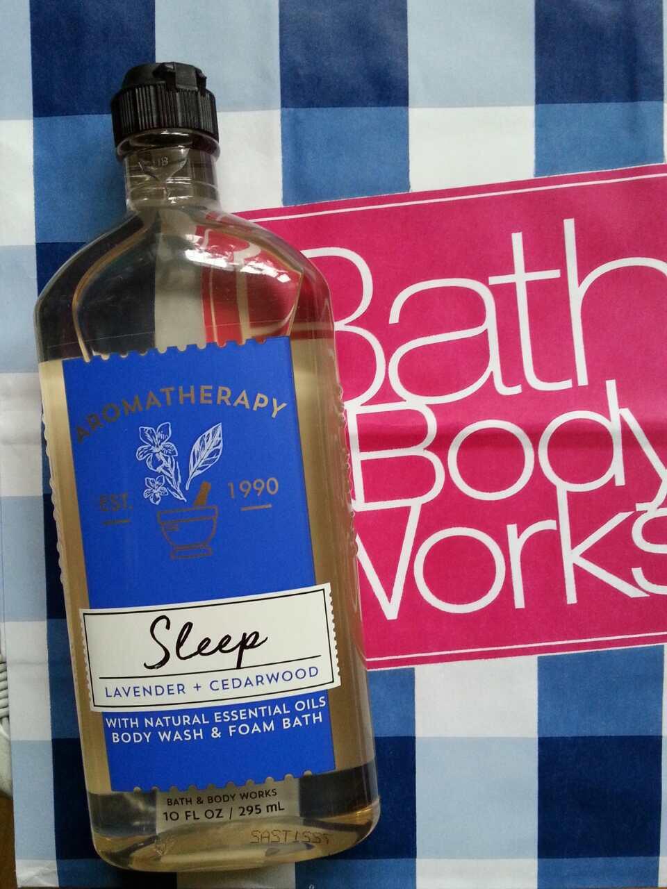 "Гель для душа ""Релакс"" Лаванда и кедр Bath and Body Works"