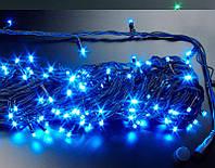 "Гирлянда уличная ""WP"" LED 200 синяя водонепроницаемая, с соединением (ч/п)"
