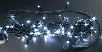 """Гирлянда уличная """"WP"""" LED 200 белая водонепроницаемая, с соединением (ч/п)"""