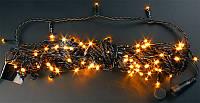 """Гирлянда уличная """"WP"""" LED 200 желтая водонепроницаемая, с соединением (ч/п)"""