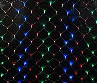 "Гирлянда сетка ""мульти"" 1.7*1.5 м 150 LED"
