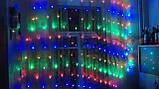 """Гирлянда сетка """"мульти"""" 1.7*1.5 м 150 LED, фото 4"""
