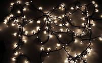 """Гирлянда уличная """"WP"""" LED 200 тепло-белый водонепроницаемая, с соединением (ч/п)"""