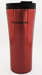Термокружка Starbucks красная, 500мл. (902-3)