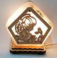 Соляная лампа Ангелочек, фото 1
