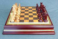 Игра настольная шахматы Lefard 40х40 см 176-003